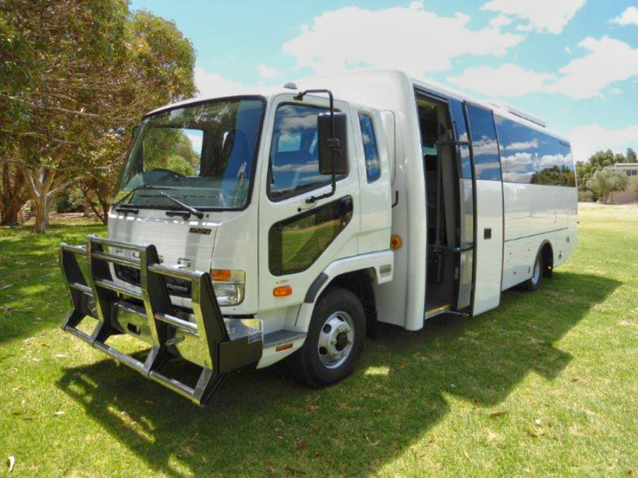 Outback Tour Services vehicle